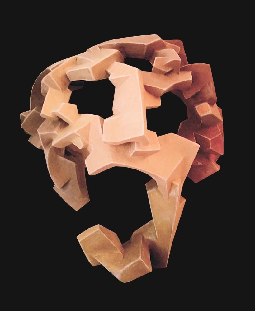 Complex Cubist mask 3