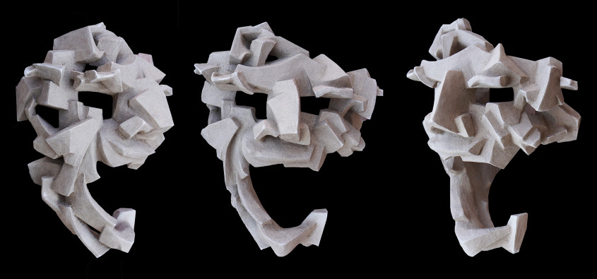 Cubist mask #1 2016