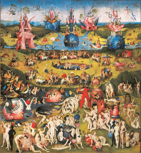 Garden of Earthly Delights center panel