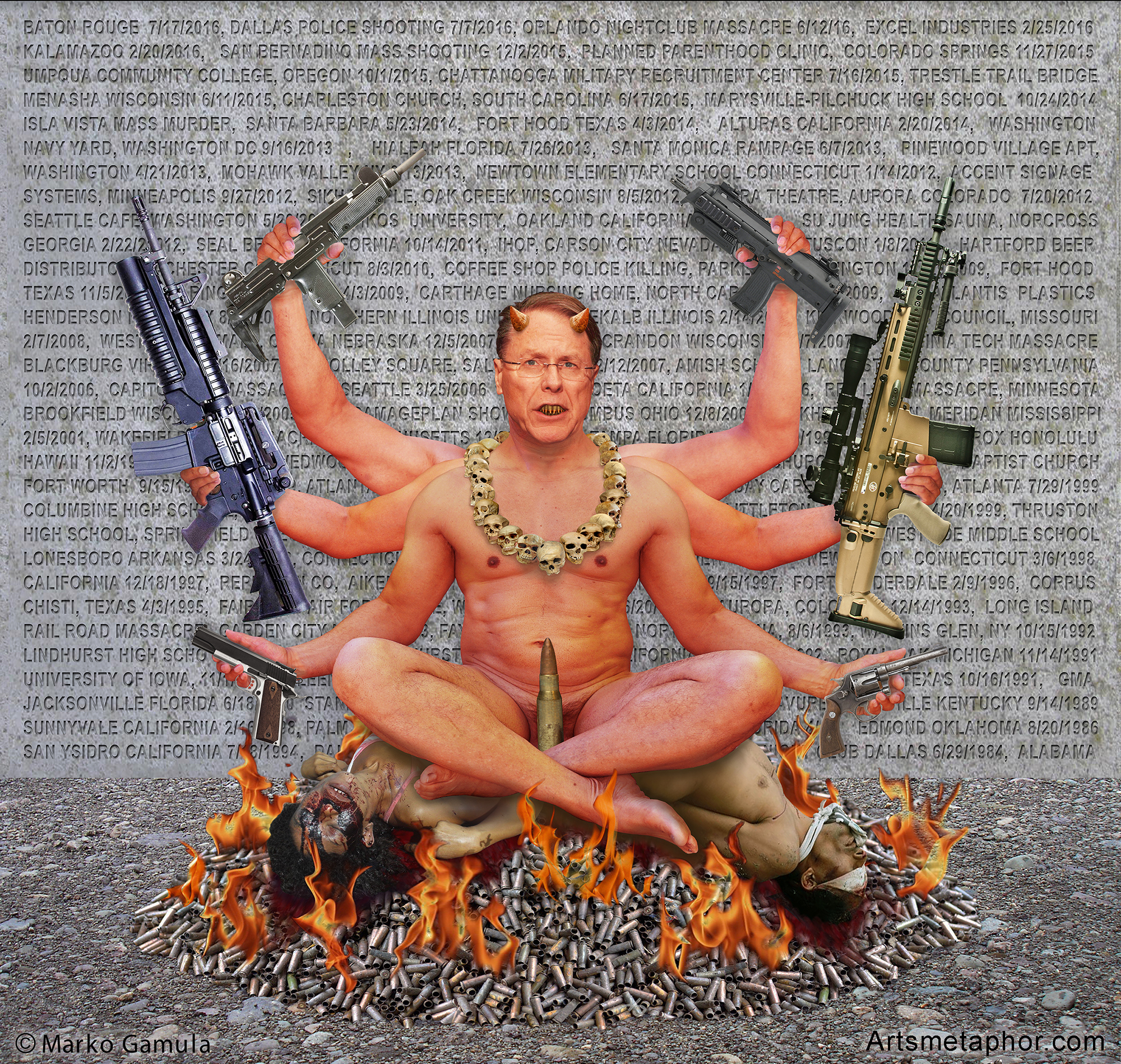 NRA: God of Death