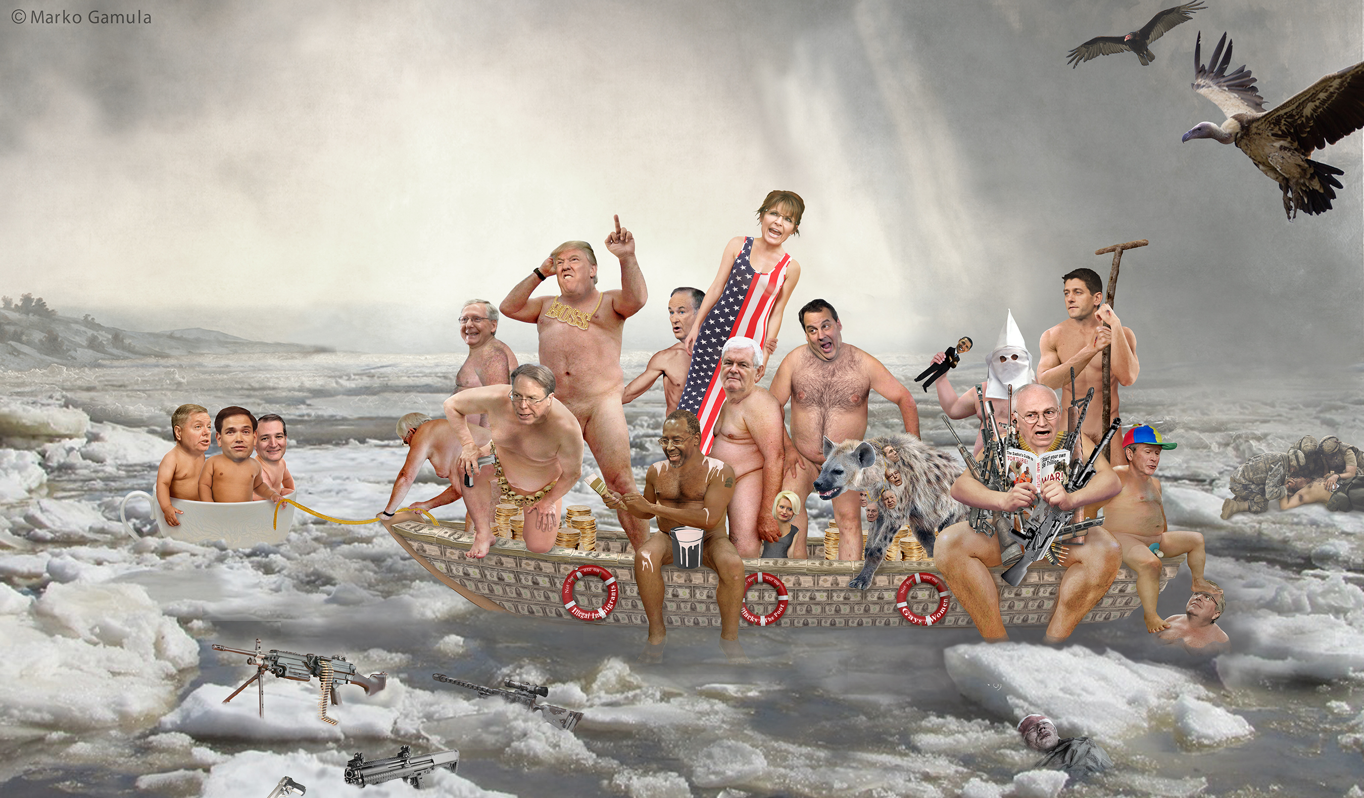Republicans Crossing the Delaware