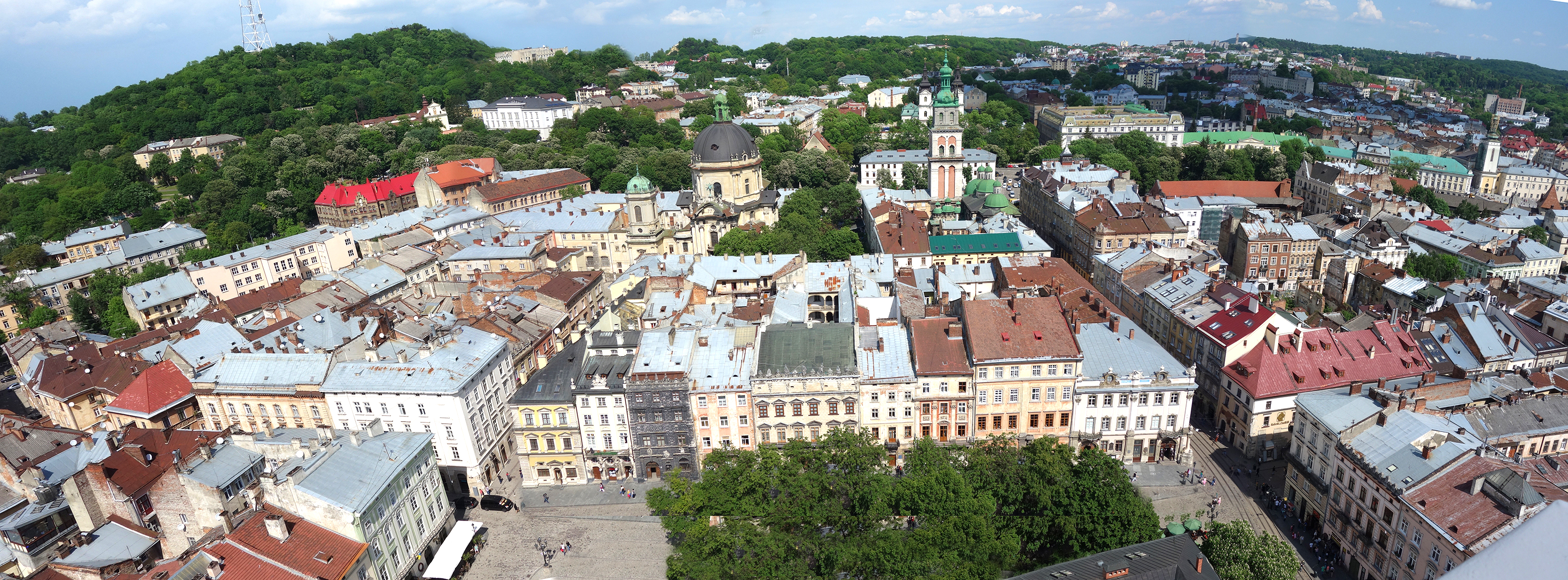 Lviv looking east