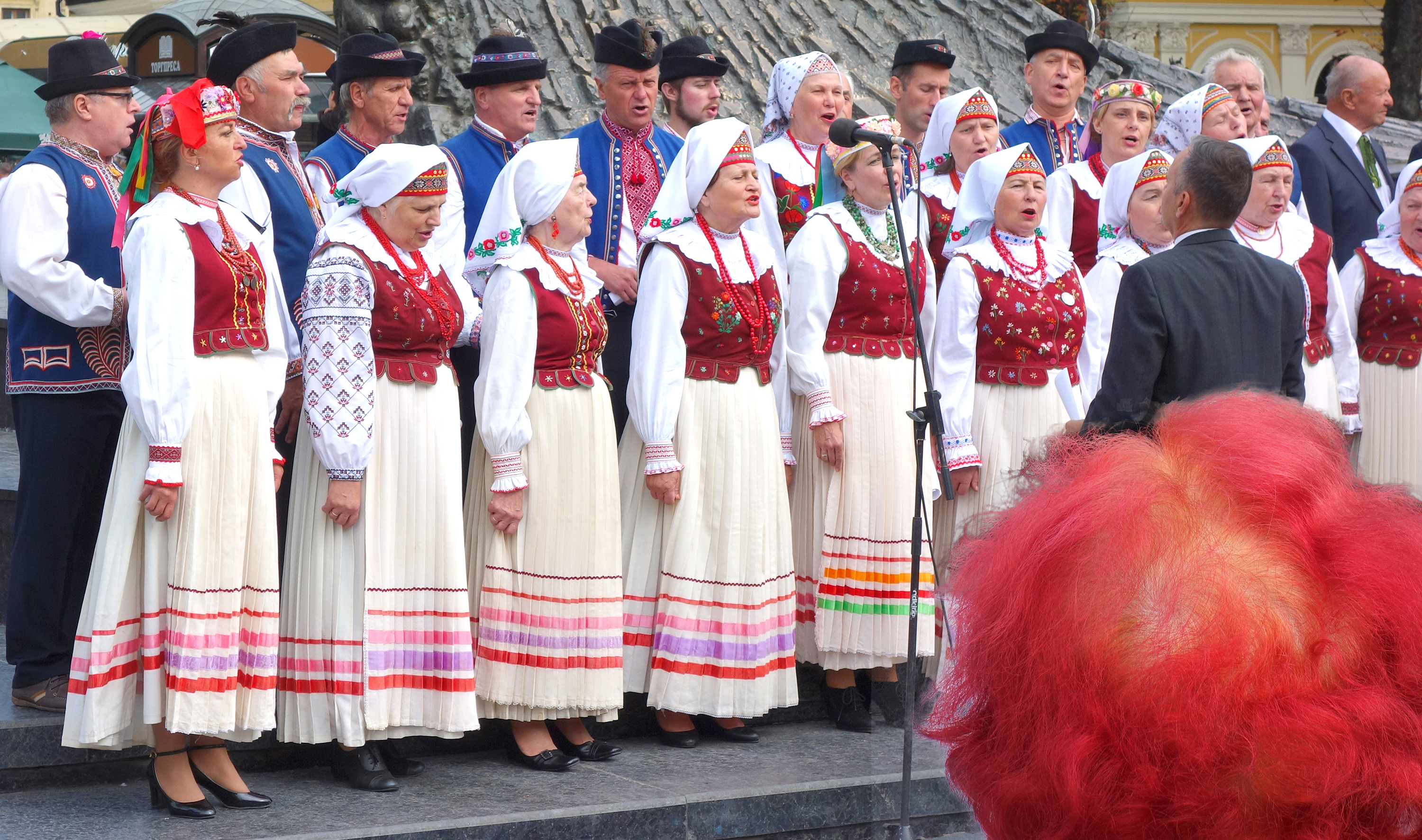 Lviv, traditional choir