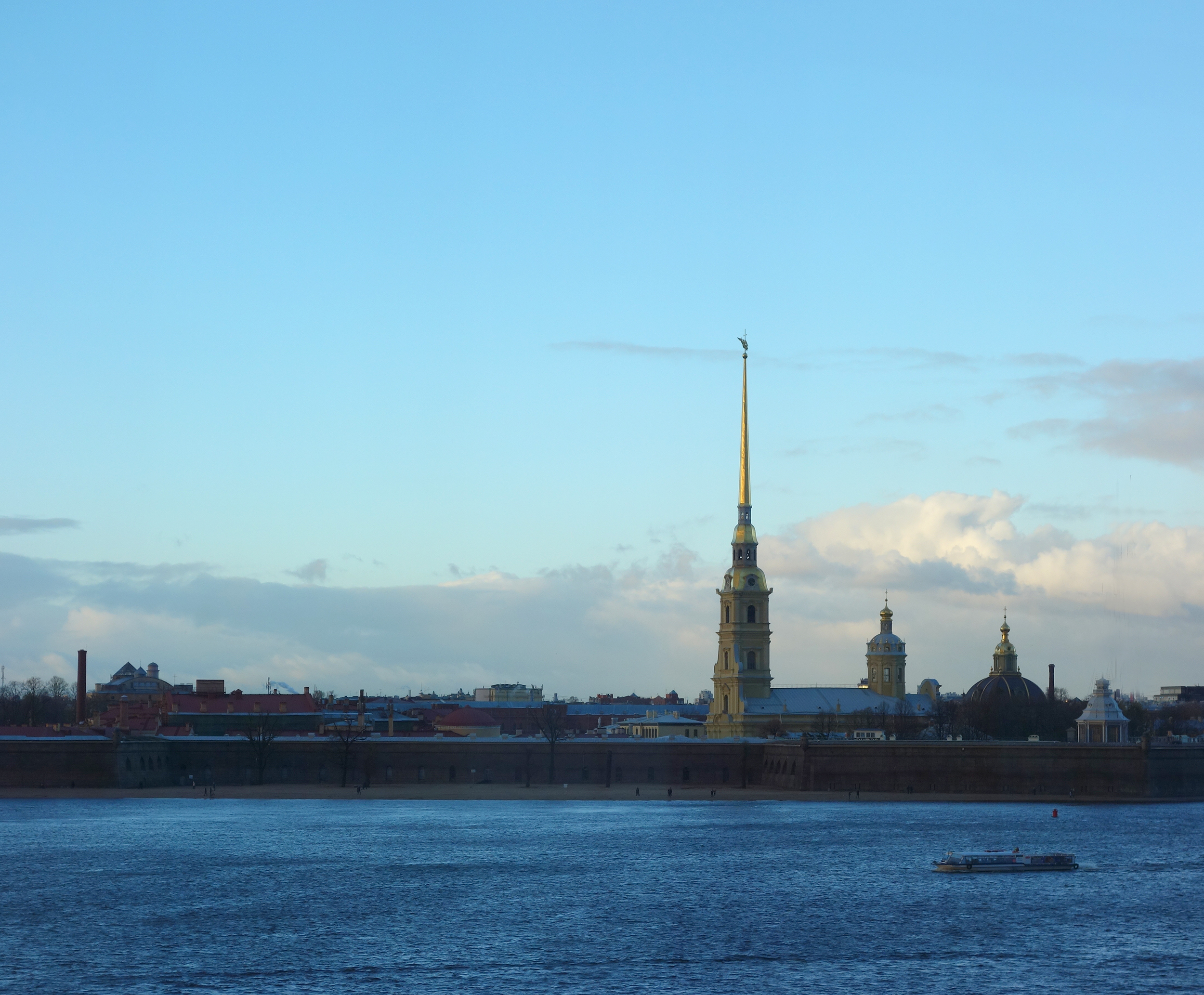 St Paul fortress